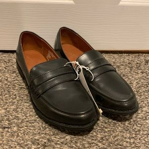 Black Loafers NWT